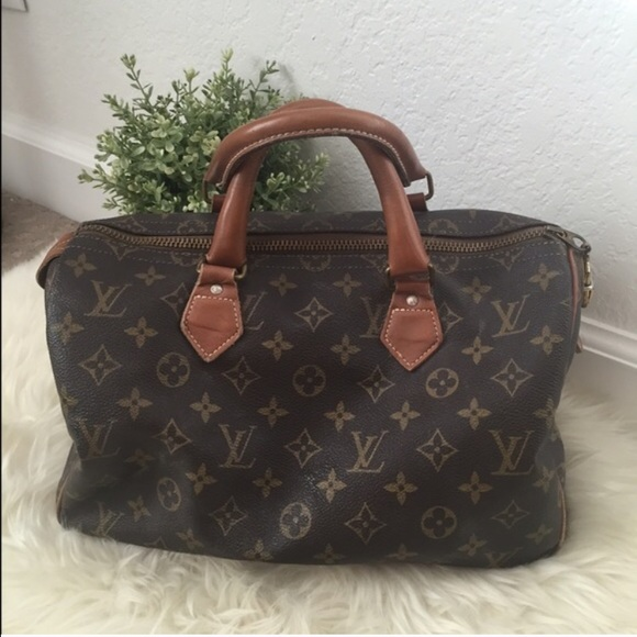 d2a4be3b40f4 Louis Vuitton Handbags - Vintage Louis Vuitton speedy 30 french luggage co