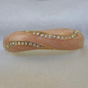 Jewelry - Vintage Peach Bangle Bracelet