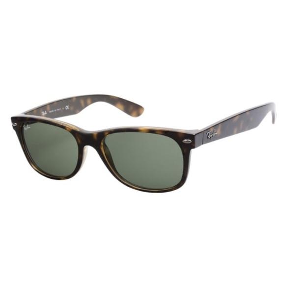 d4c7f61f139f RAY-BAN New Wayfarer Classic Tortoise Frame 52 18.  M 56d9dd9b2de51251bf01c498