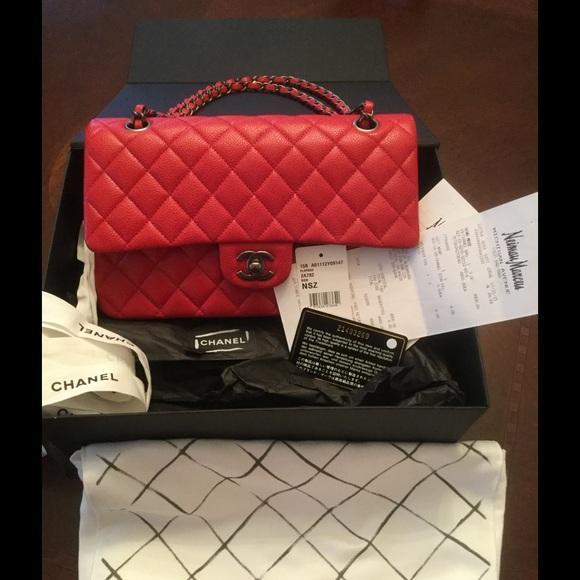 c2b72340b34714 CHANEL Bags | Soldauth Classic Red Caviar Very Rare | Poshmark