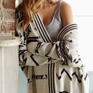 Urban Outfitters Ecote oversized sweater with hood