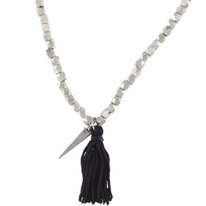 Rebecca 'Earth Eclectic' Tassel Pendant Necklace
