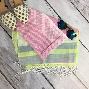 J. Crew Accessories - J.Crew multi-colored scarf