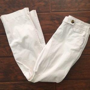 Isaac Mizrahi Pants - White cotton pants