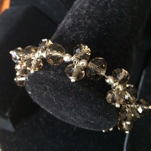 Cookie Lee Jewelry - Genuine Crystal stretch bracelet