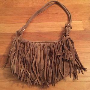 Genuine suede American eagle purse