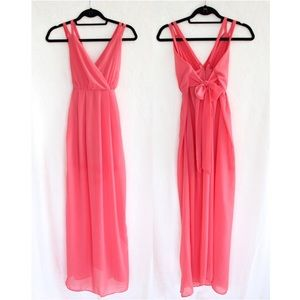 Zinga Dresses & Skirts - Coral Maxi Dress