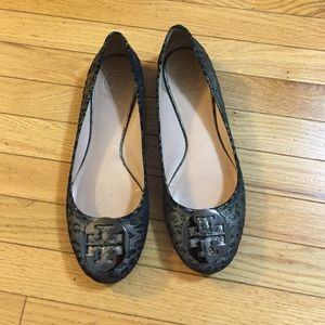 Tory Burch Shoes - Tory Burch Glitter Flats