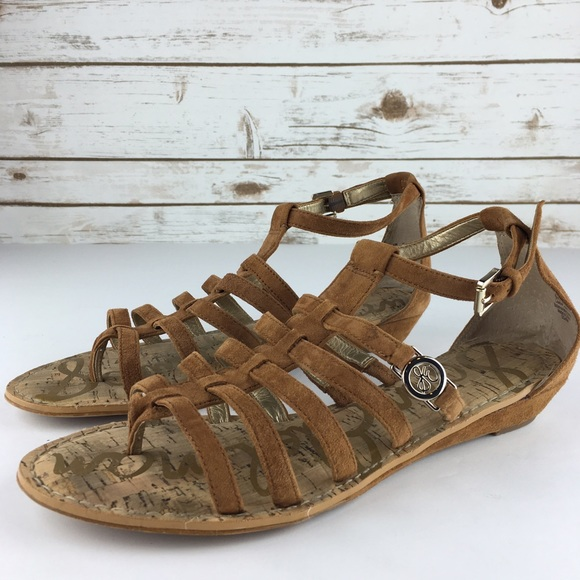 Sam Edelman Donna Suede Sandals amazon cheap online free shipping amazon shop for cheap online outlet pick a best clearance sneakernews 1mTo78K8