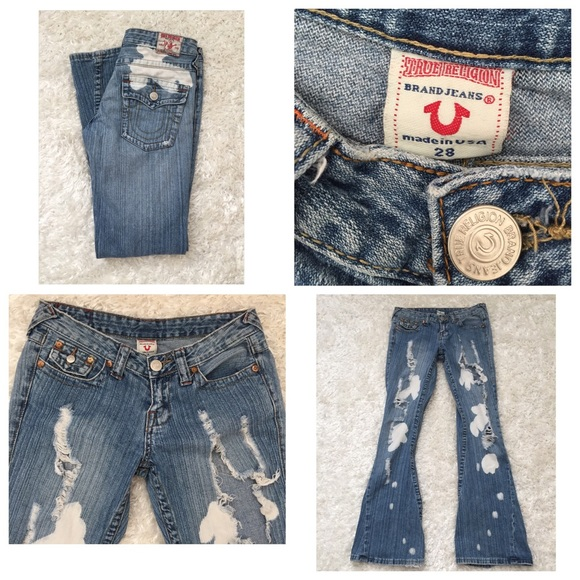true religion true religion distressed jeans from suzy 39 s closet on poshmark. Black Bedroom Furniture Sets. Home Design Ideas