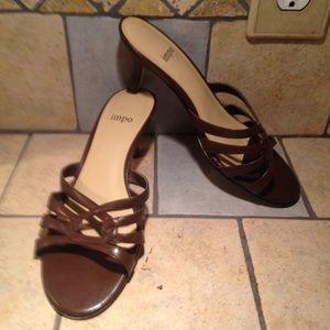 Chocolate Brown Dressy Sandals