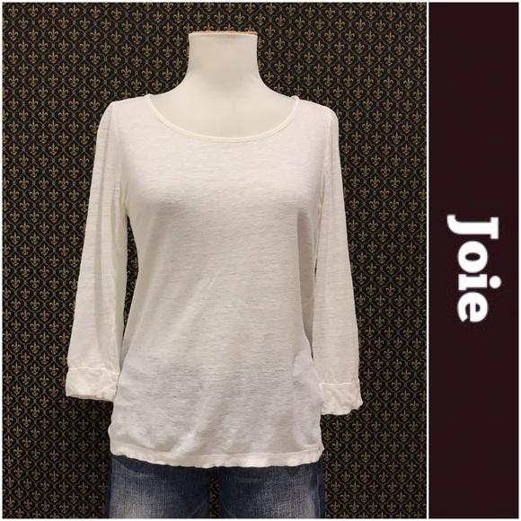 Joie Tops Linen Knit Tee Poshmark