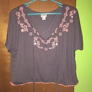 Cute Embroidered Top!
