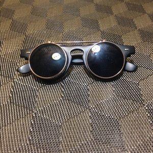 Dwayne Wayne's Flip up sunglasses