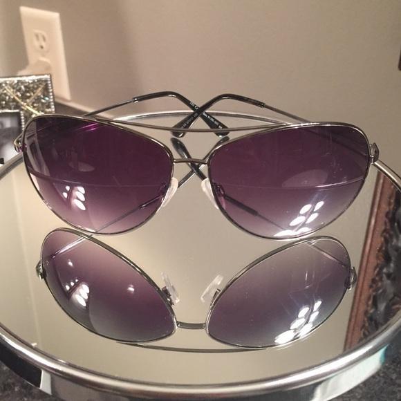 bef015d63216 Calvin Klein Accessories - Calvin Klein unisex purple tint aviator  sunglasses