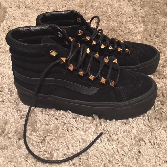 848beb7876 Platform Vans studded sneakers. M 56da41d3f739bcd84500ff49