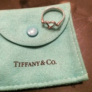 Tiffany &Co. Heart Ring
