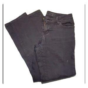 Levi's black boot cut jeans