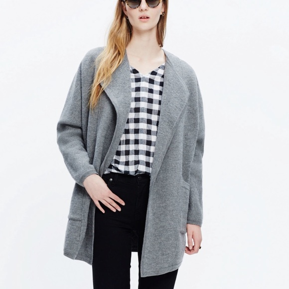 61% off Madewell Jackets & Blazers - Madewell Oversized Sweater ...