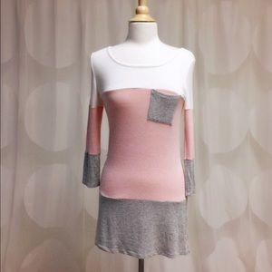 ✂️CL✂️FLASH SALE Light weight pink tunic top