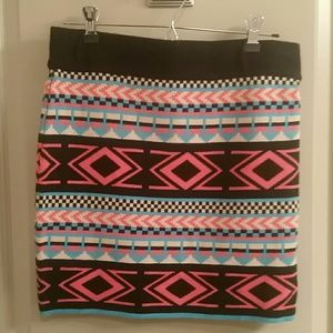 Dresses & Skirts - Aztec Mini Skirt