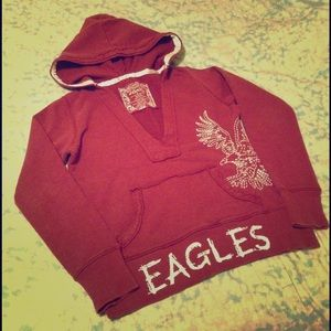 Vanity Sweaters - Eagles Pullover Sweater
