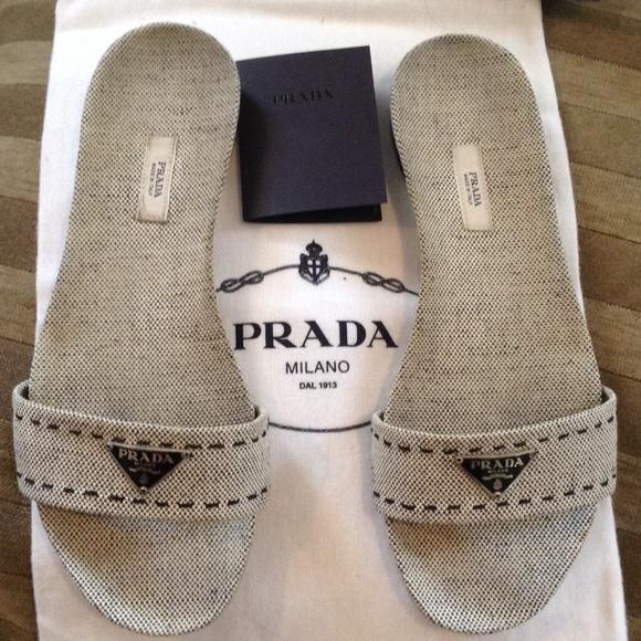 Authentic PRADA Sandals SALE c283aaf9b