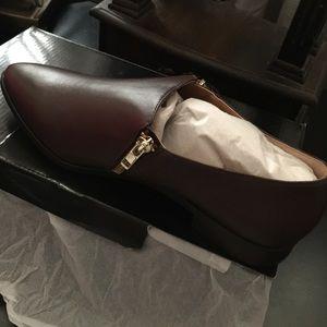 JCrew Double Zip Loafers