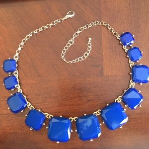 Big Blue Bold Necklace
