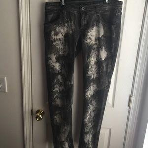 RW Black Painters Skinny Jeans