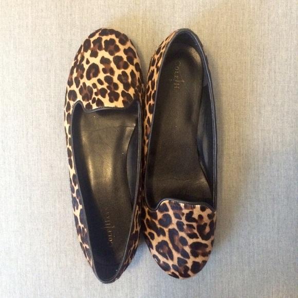 f4b7f8467af5 Cole Haan Shoes   Leopard Flats   Poshmark