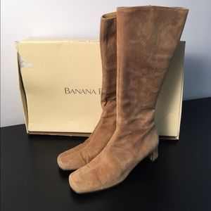 Banana Republic Charity suede boots - size 7