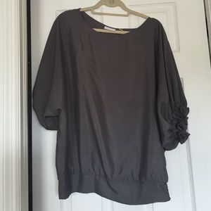 New York & Company Tops - Gray New York & Co blouse