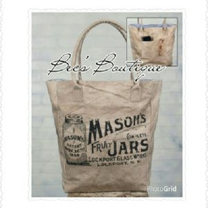*SALE!* Mason Jar Market Bag