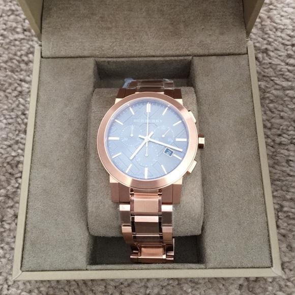 Large bracelet watches