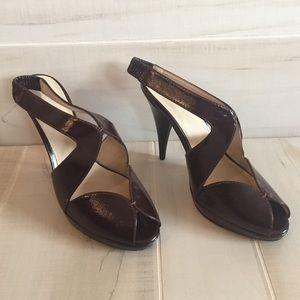 Colin Stuart Shoes - Colin Stuart deep burgundy heel - size 7.5 - NWOT
