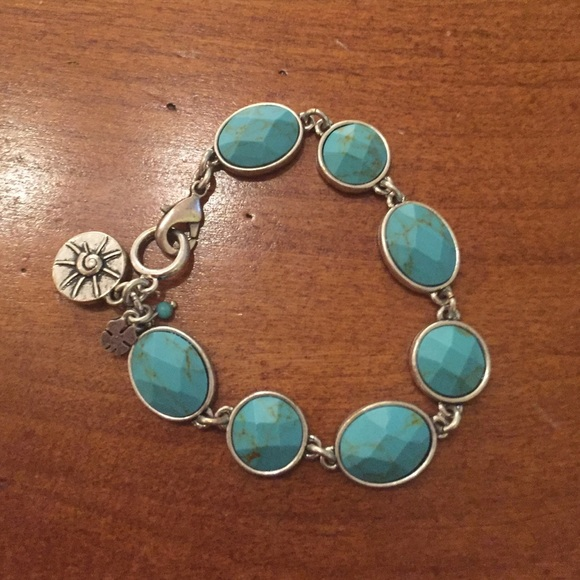 Turquoise Stone Lucky Bracelet For Men 112