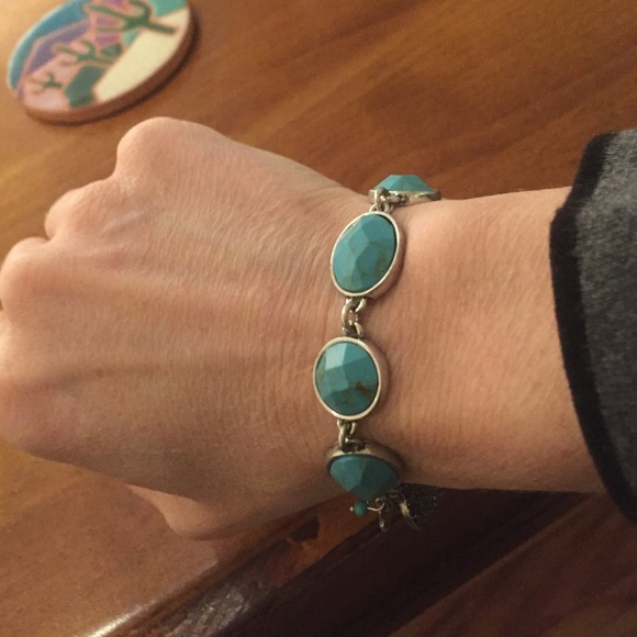 Turquoise Stone Lucky Bracelet For Men 6