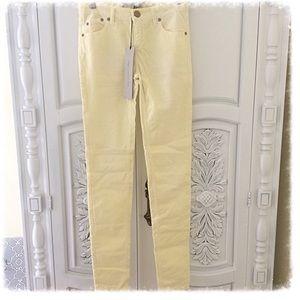 Victoria Beckham Pants - Victoria Beckham Distressed Corduroy Jeans