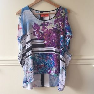 Clover Canyon Silk Top, size XS