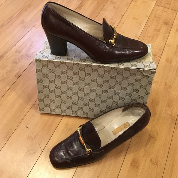 b063cce0617 GUCCI Shoes - ✨SALE✨Vintage GUCCI loafer heels