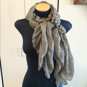 Accessories - Anthoropolog linen scarf