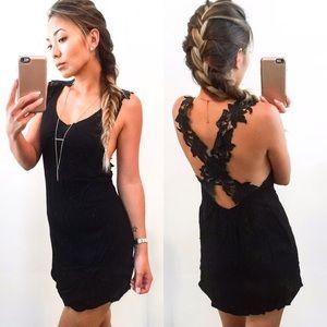 Summer End Sale- Rose Strap Dress-Black