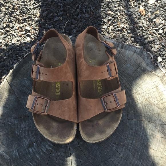 1fcec4165115 Birkenstock Shoes - Brown Birkenstock Milano
