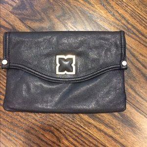 7% off Prada Handbags - NWOT Prada Raso Gathered Purple Clutch ...
