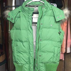 Abercrombie & Fitch fur vest