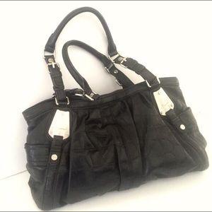 b. makowsky Handbags - B. Makowsky black croc leather bag