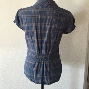 Charlotte Russe Tops - Not-your-boyfriend's flannel top