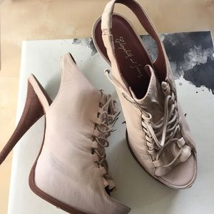 Elizabeth and James Margot lace up heels