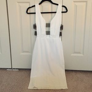 ASOS Dresses & Skirts - White Cut Out Dress